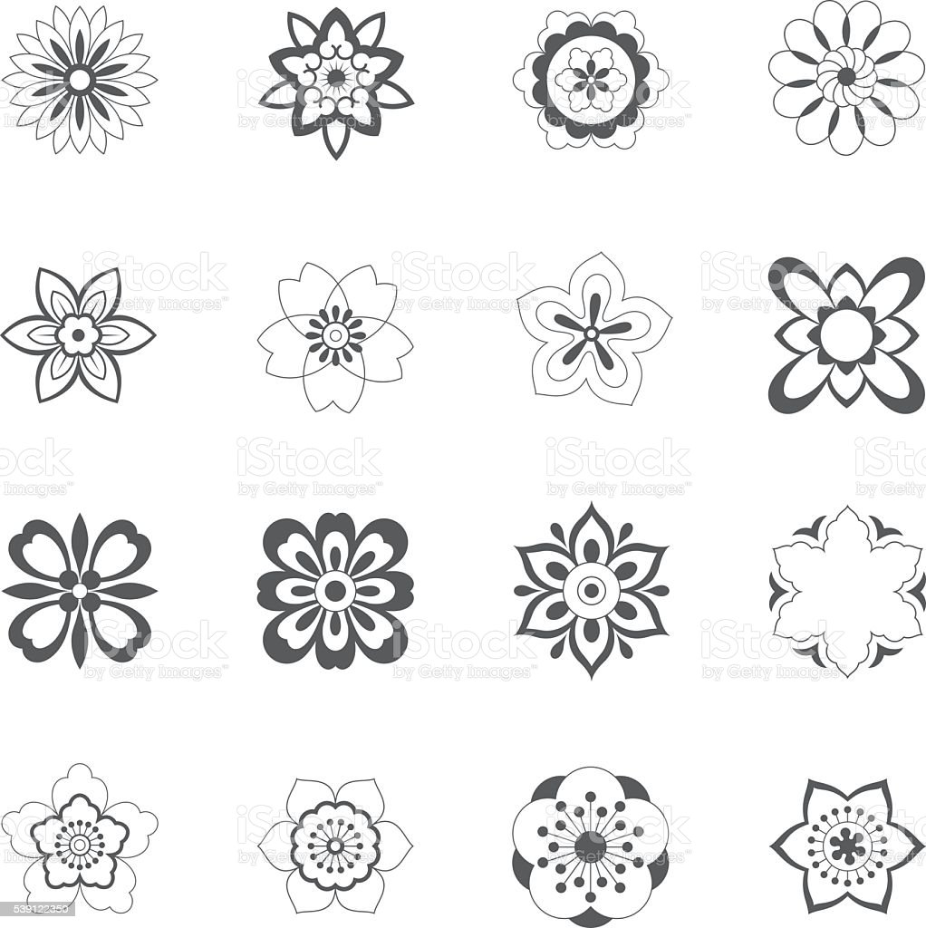 China traditional Floral Pattern vector art illustration