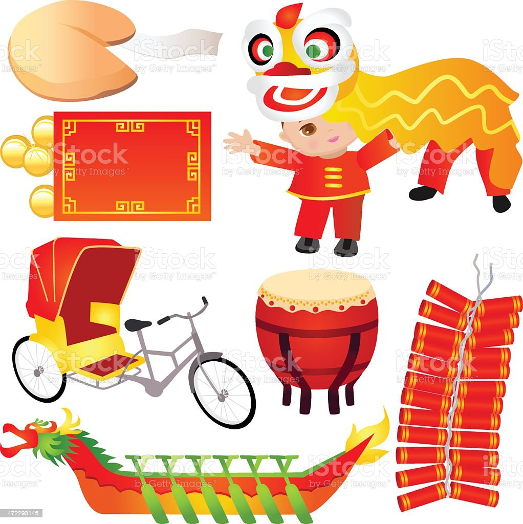 Chinese Design Elements royalty-free stock vector art