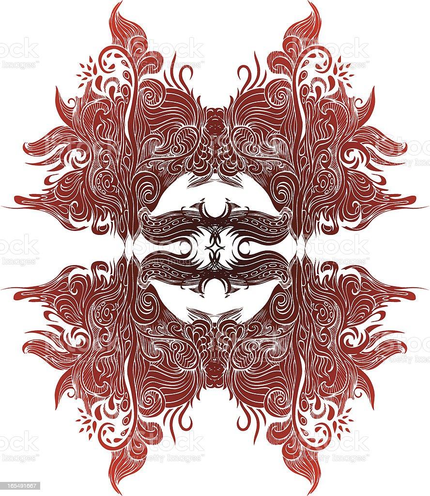 Chinesischer Stil design Lizenzfreies vektor illustration