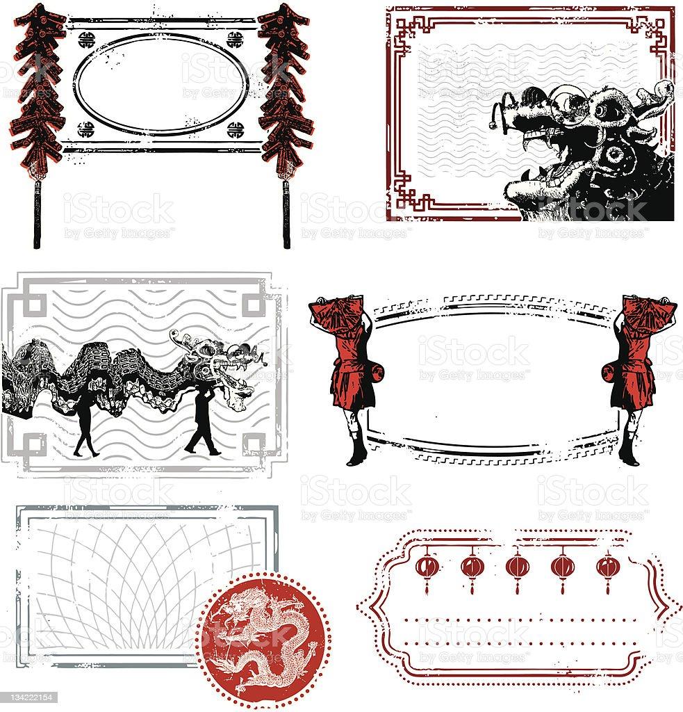 Chinese New Year Bonanza vector art illustration