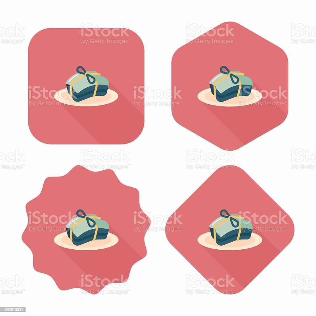 Chinese New Year flat ui background, eps10 vector art illustration