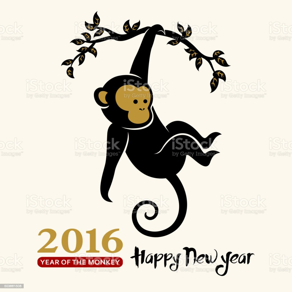 Chinese new year greeting card vector art illustration