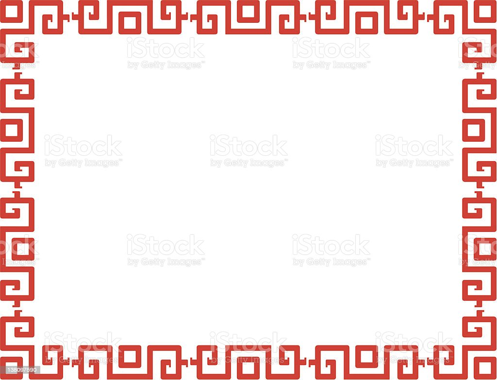Chinese Pattern royalty-free stock vector art