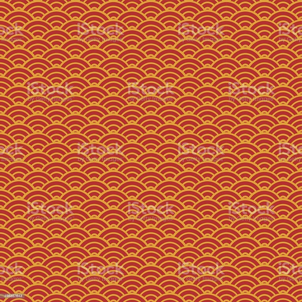 Chinese seamless pattern vector art illustration