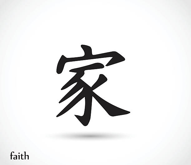 Chinese Symbol For God Pictures Clip Art Vector Images