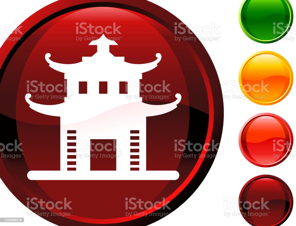 Chinese temple internet royalty free vector art royalty-free stock vector art