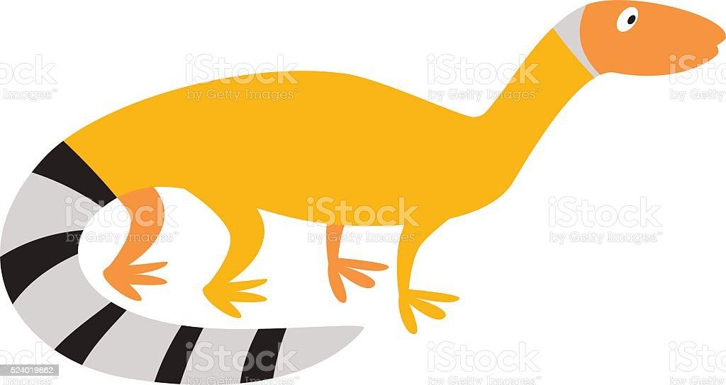 Chinese water dragon lizard nature animal reptile cartoon silhouette vector vector art illustration