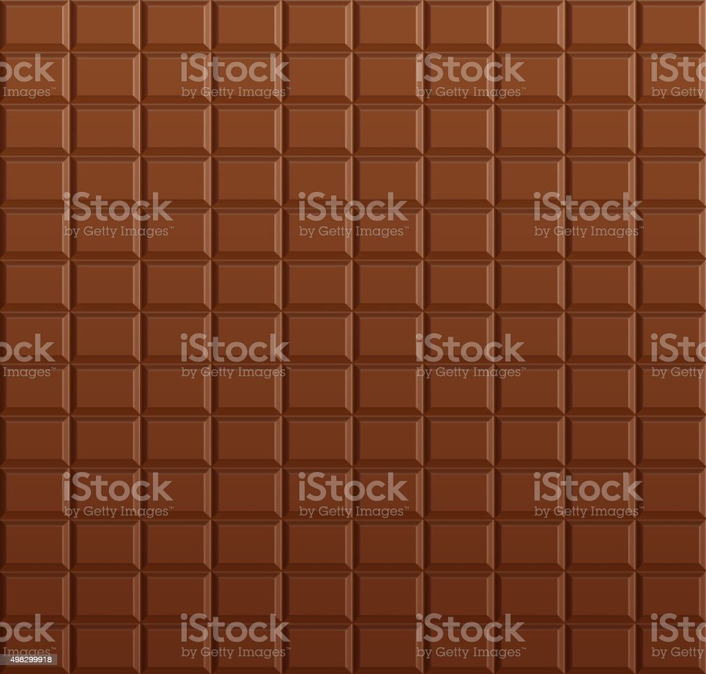 Chocolate bar background vector art illustration