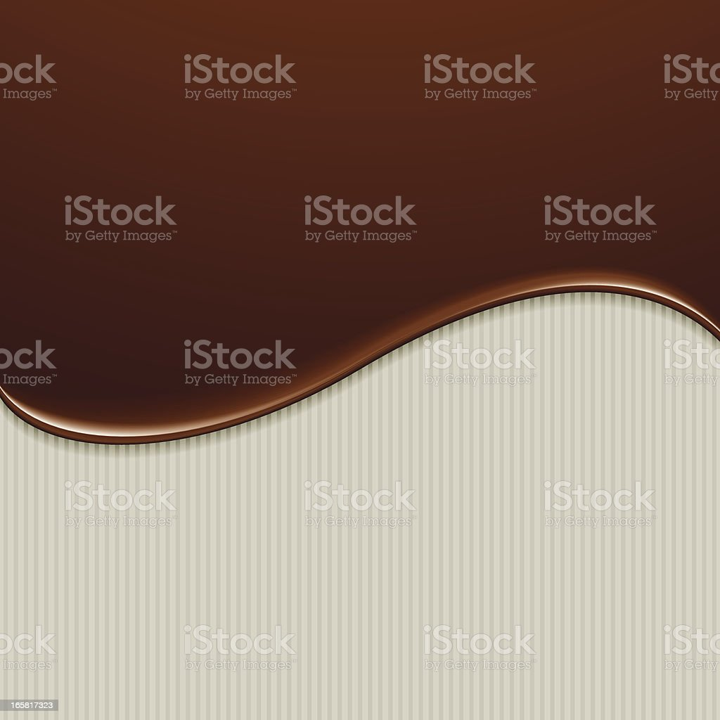 chocolate drip royalty-free stock vector art