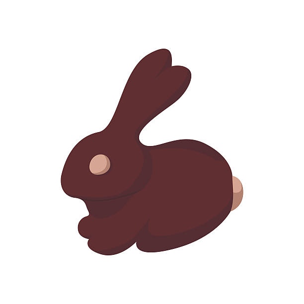 Chocolate Bunny Clip Art, Vector Images & Illustrations - iStock