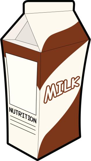 Chocolate Milk Clip Art, Vector - 49.7KB