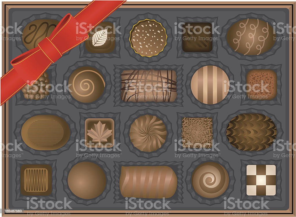 Chocolate royalty-free stock vector art