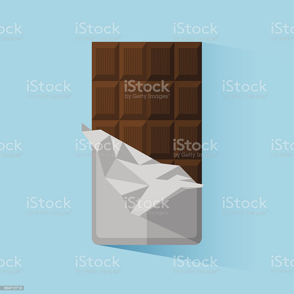 Chocolate vector art illustration