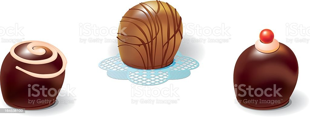 chokolate2 royalty-free stock vector art
