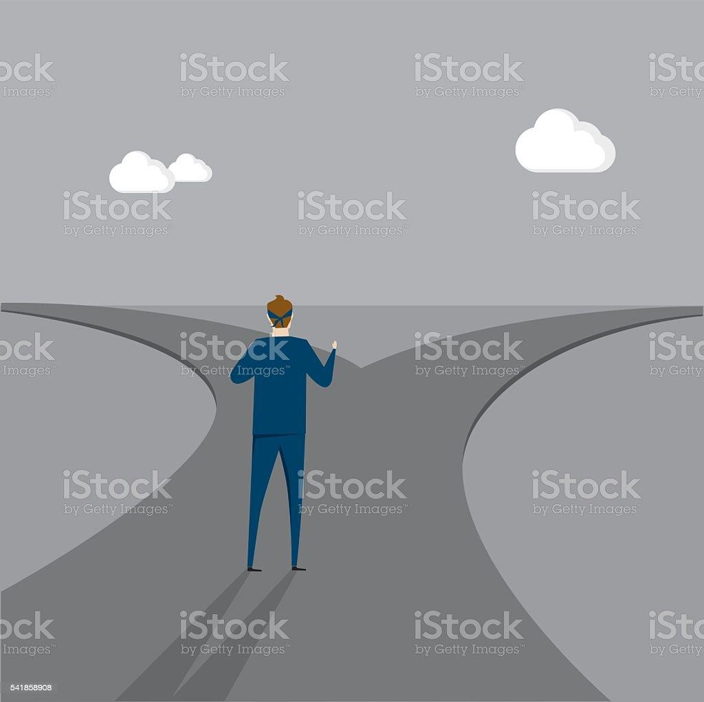 Choose vector art illustration