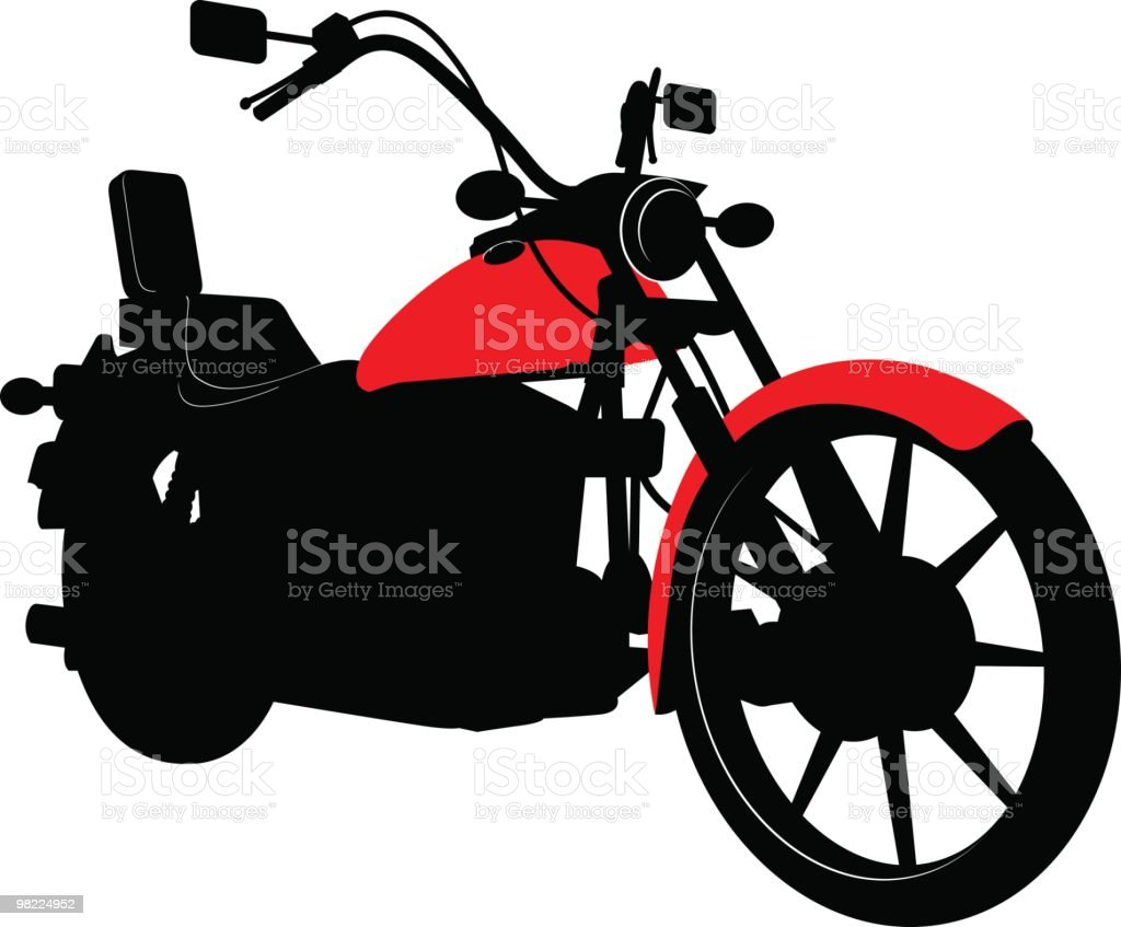 Chopper royalty-free stock vector art