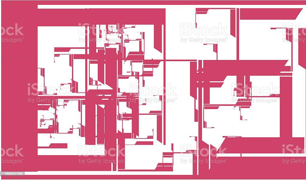Choppy pattern (Vector) royalty-free stock vector art