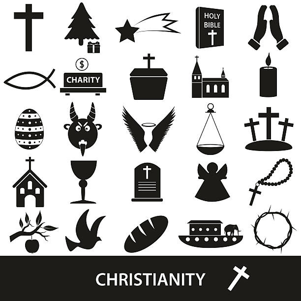 Christianity Symbol Crown Cross Clip Art Vector Images
