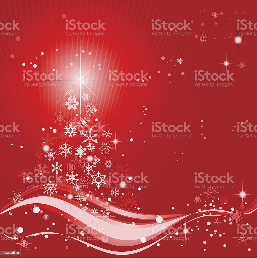 Christmas abstract background royalty-free stock vector art