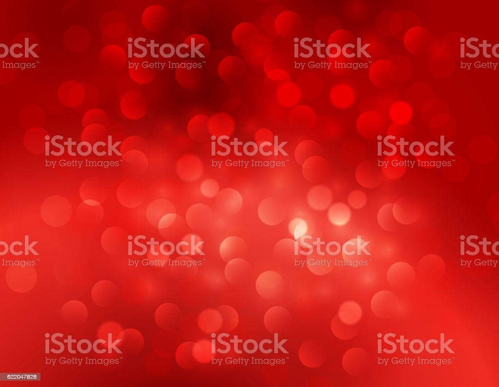 Christmas abstract red background vector art illustration