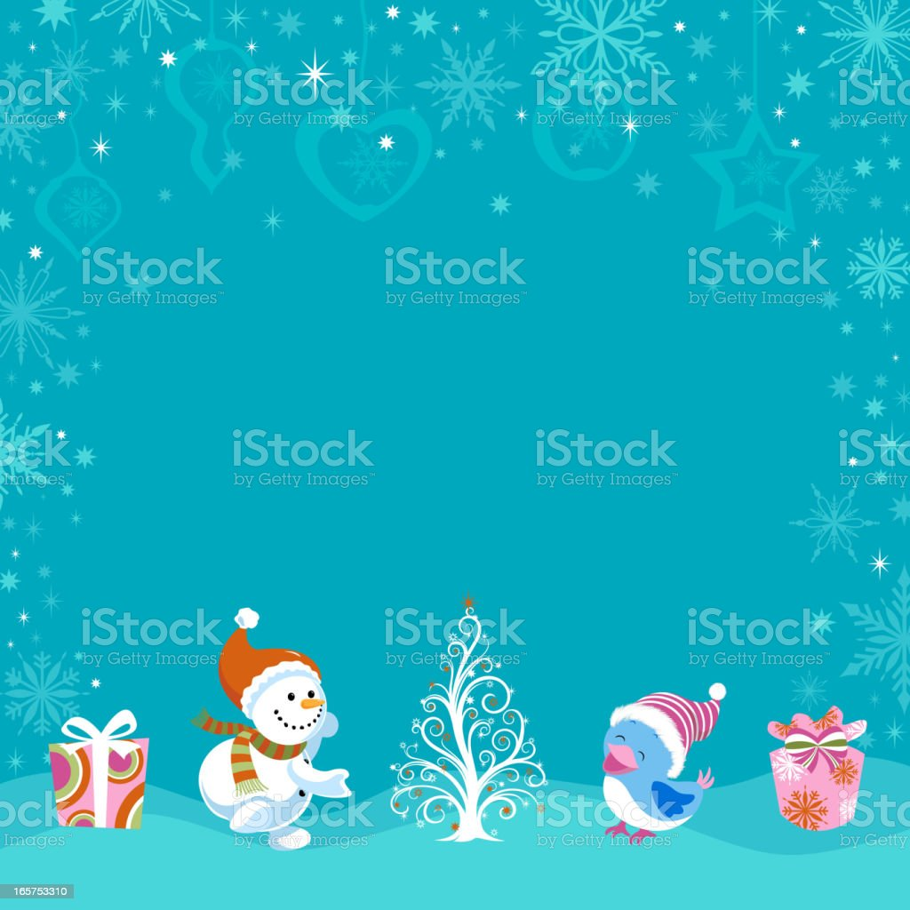Christmas Abstract vector art illustration