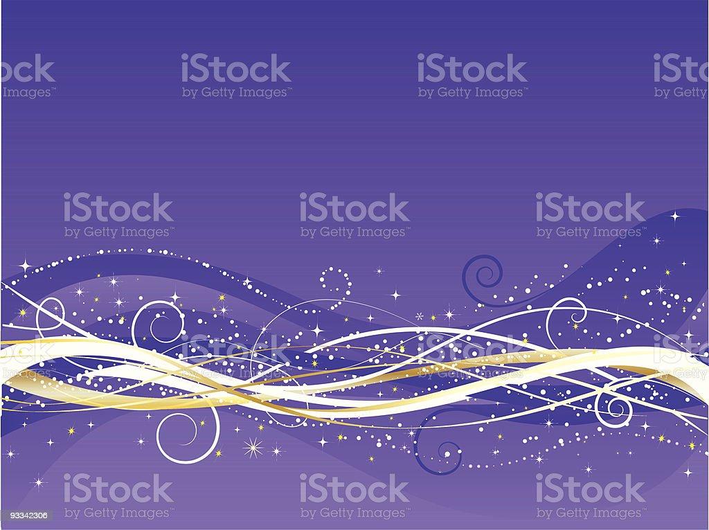 Christmas abstract royalty-free stock vector art