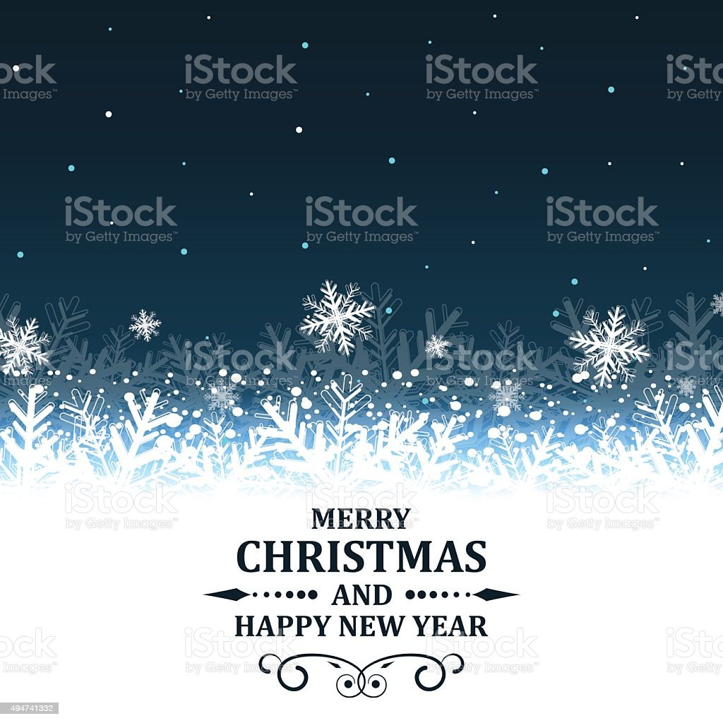 Christmas and New Year abstract vector illustration. vector art illustration