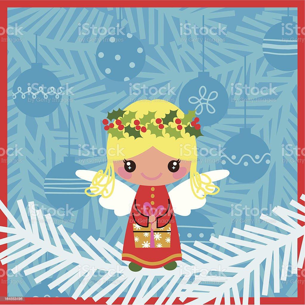 Christmas Angel. royalty-free stock vector art