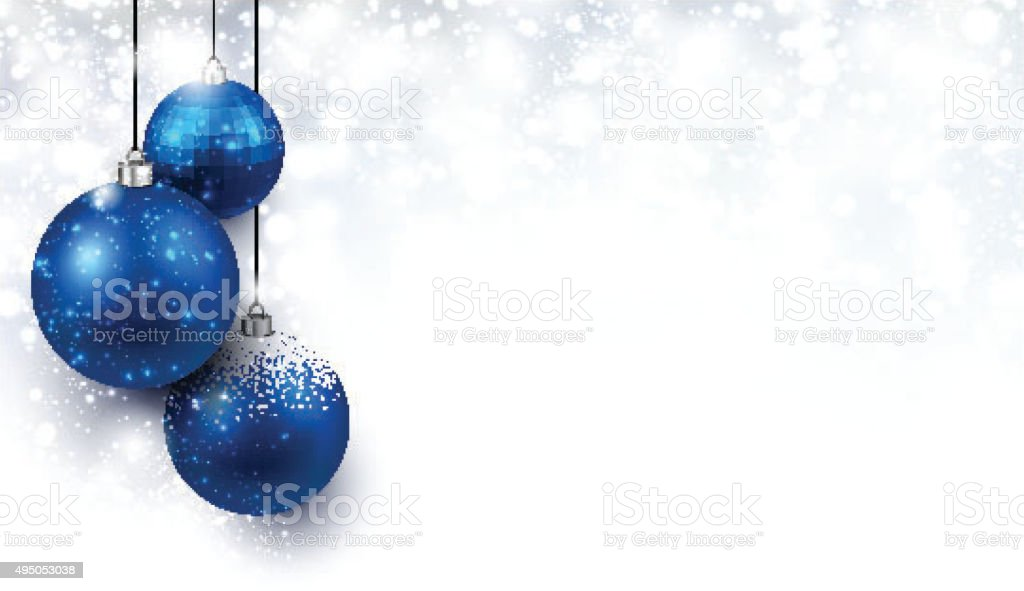 Christmas background vector art illustration
