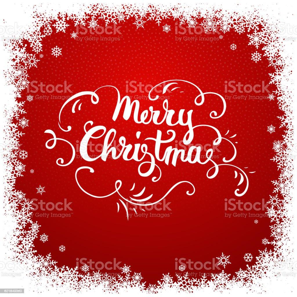 Christmas background vector art illustration