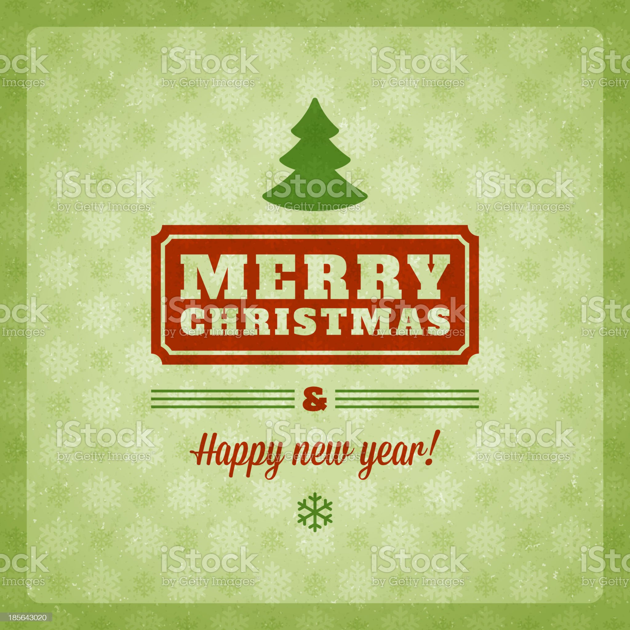 Christmas background vector image. royalty-free stock vector art
