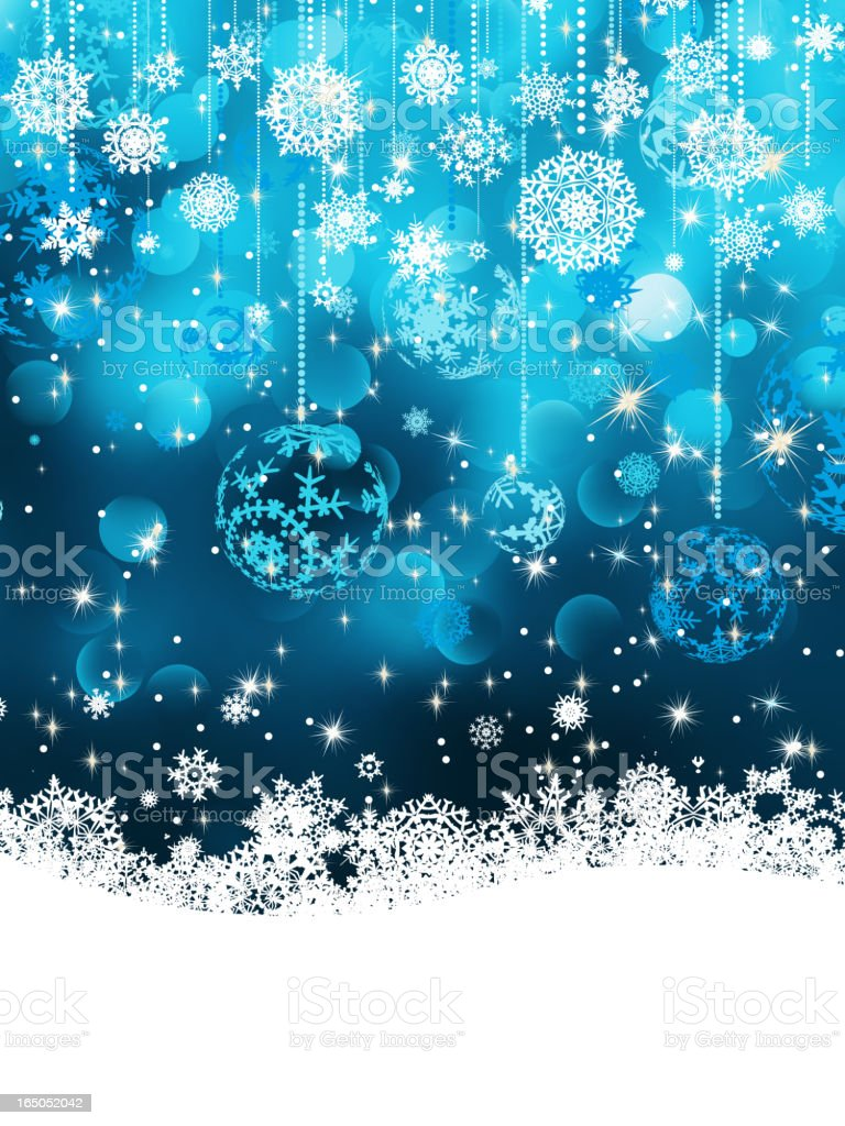 Christmas background with baubles. EPS 8 royalty-free stock vector art