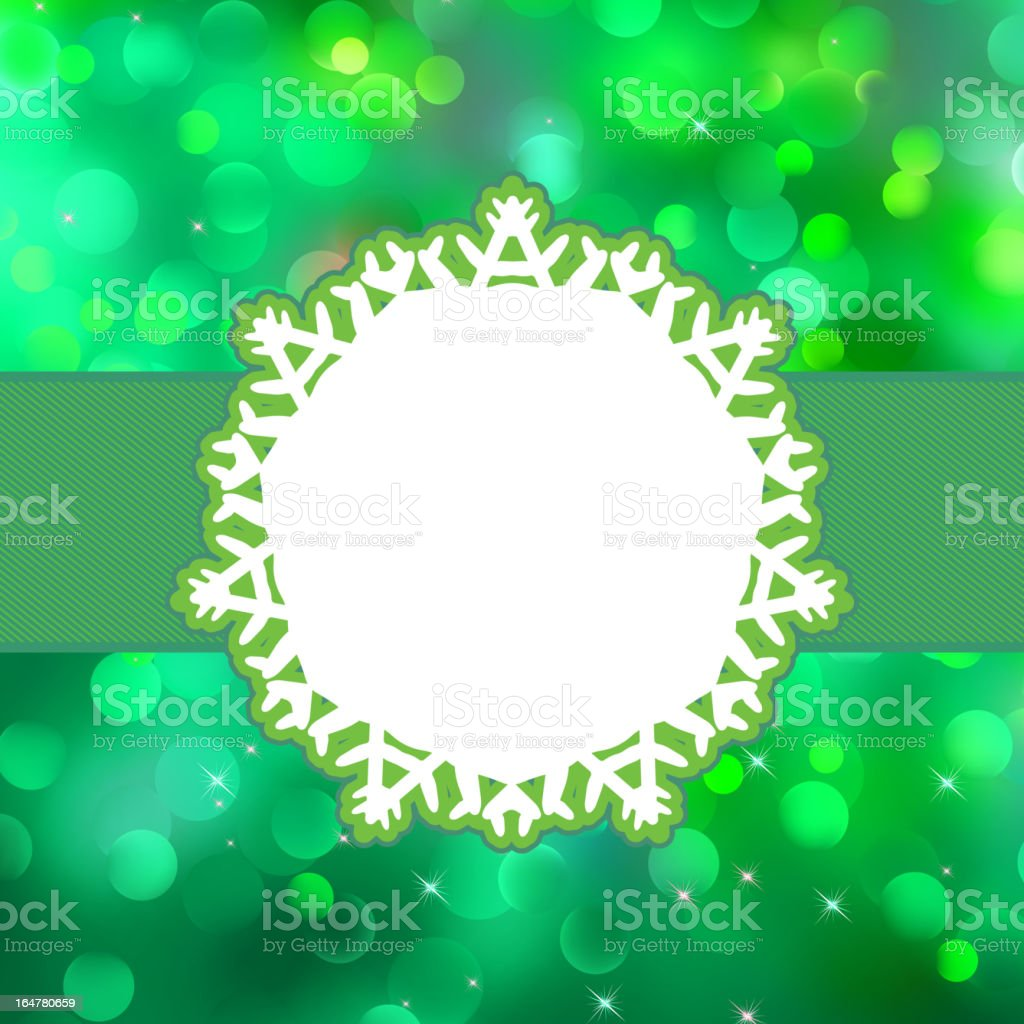 Christmas background with copyspace. EPS 8 royalty-free stock vector art
