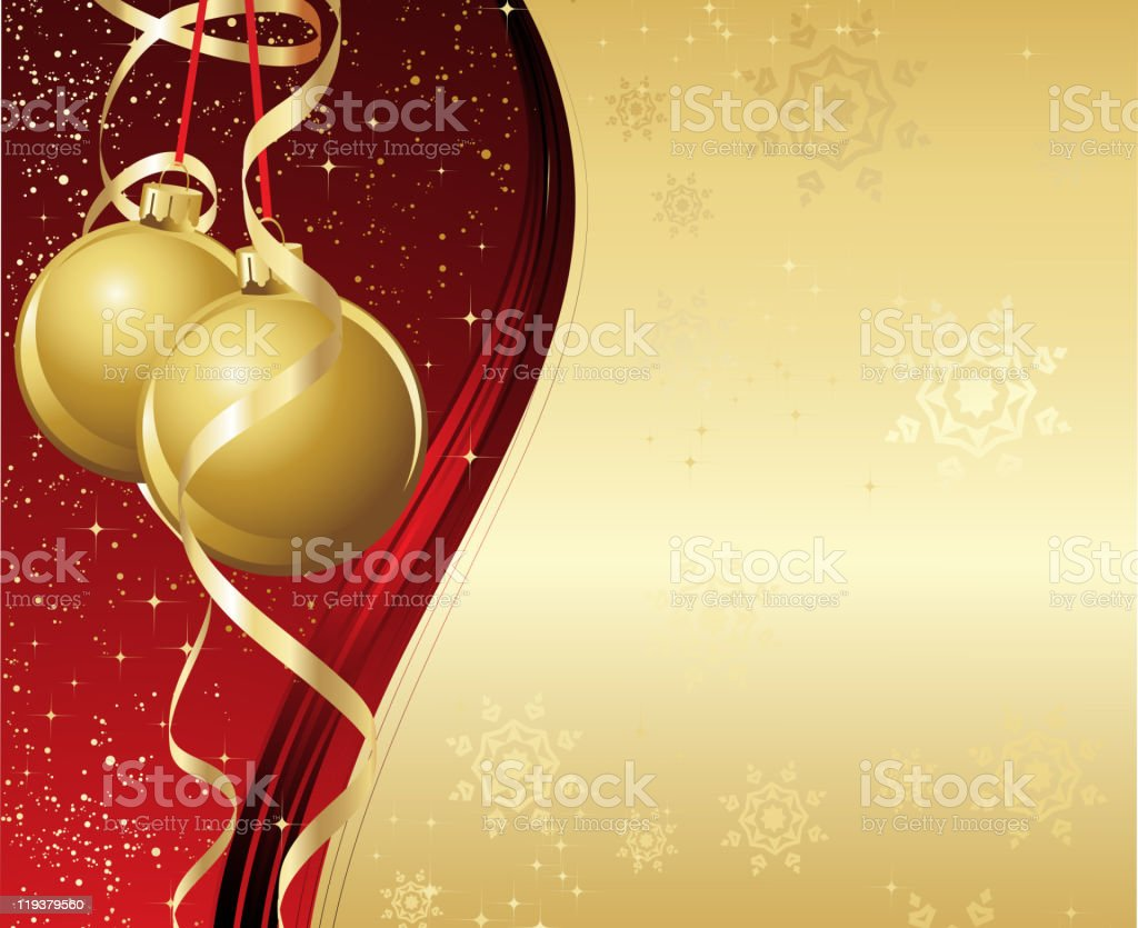 Christmas background with decoration royalty-free stock vector art