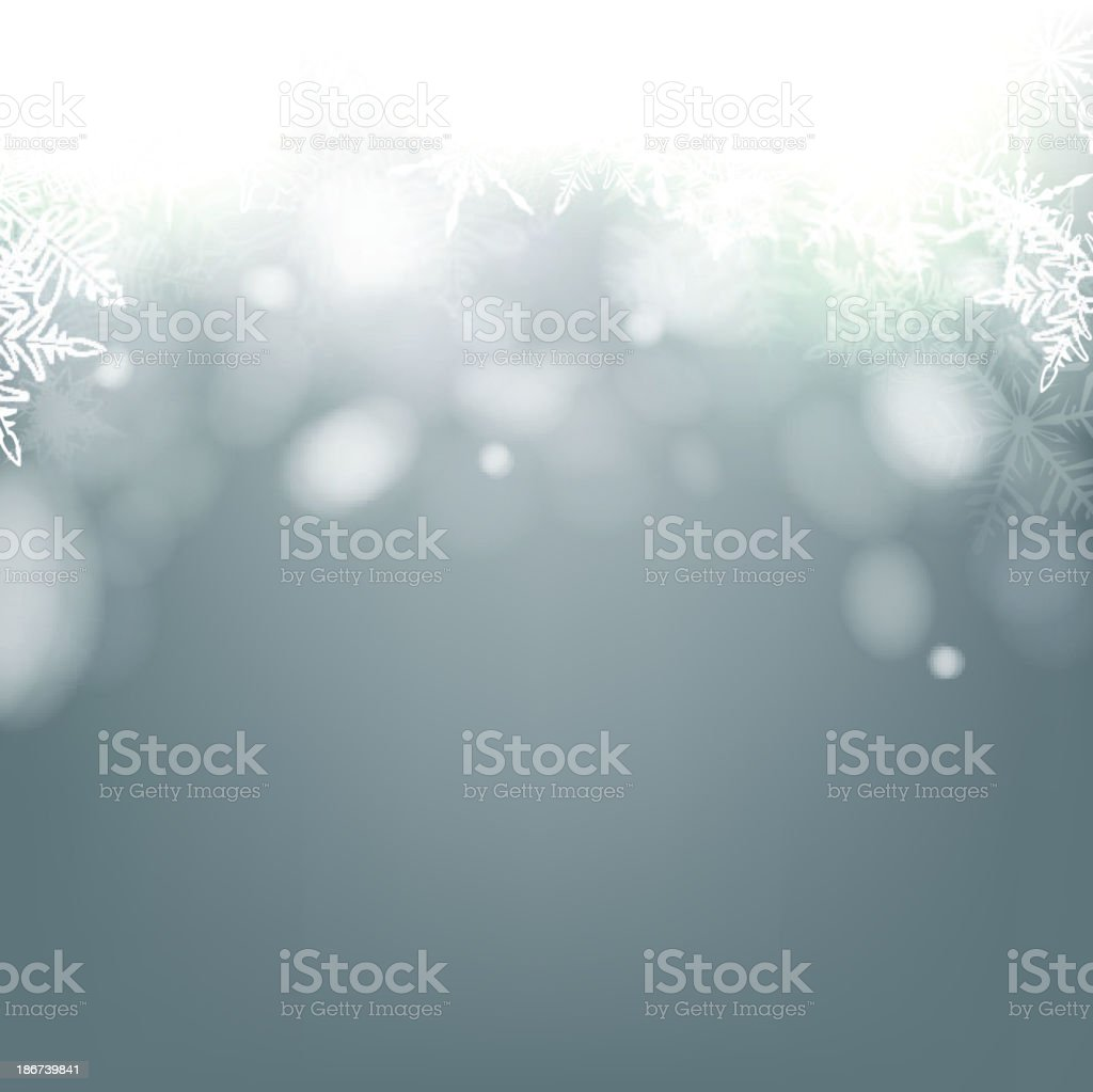 Christmas background with rotate bokeh. vector art illustration