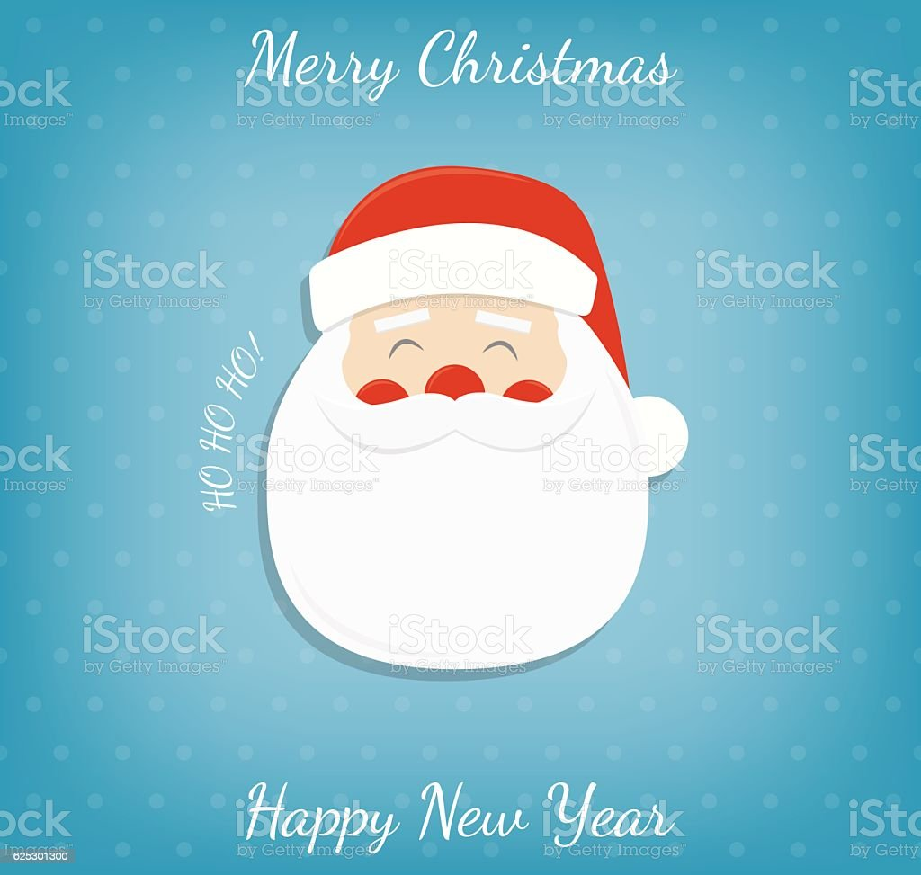 Christmas background with Santa Claus. royalty-free stock vector art