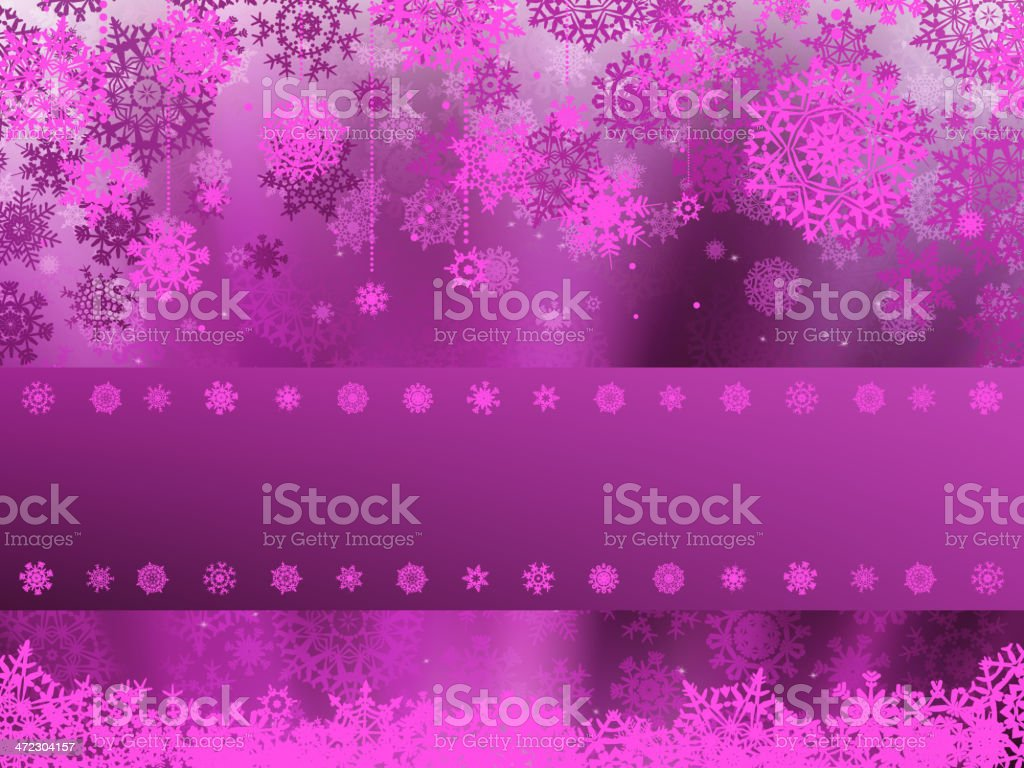 Christmas background with white snowflakes. EPS 8 royalty-free stock vector art
