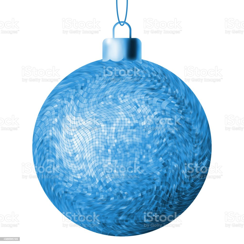 Christmas ball on a white background. EPS 8 royalty-free stock vector art