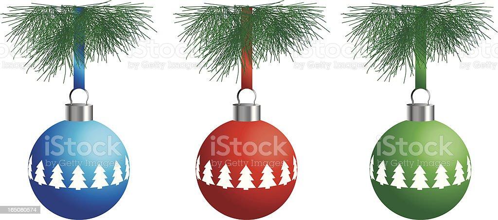 Christmas Ball – tree royalty-free stock vector art