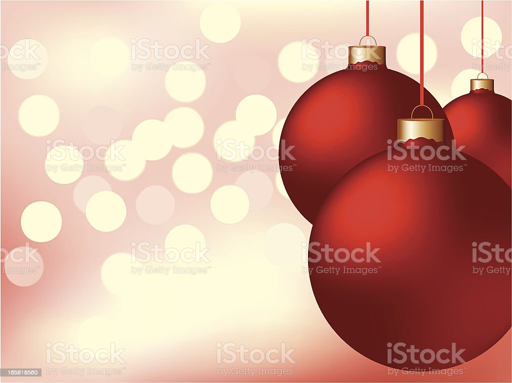 Christmas balls royalty-free stock vector art