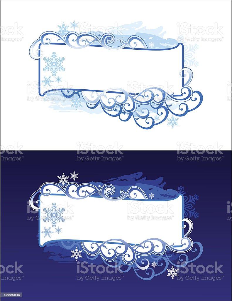 christmas banner / vector background royalty-free stock vector art
