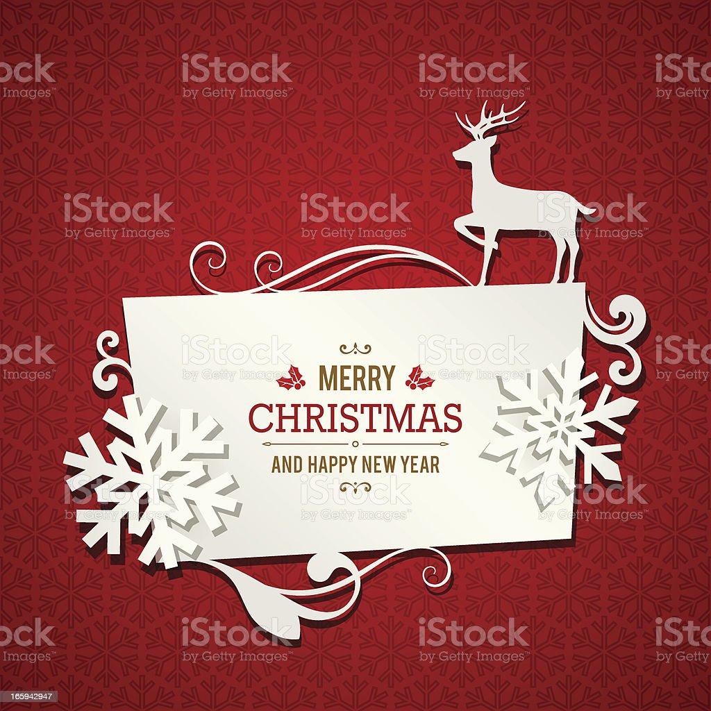 Christmas Banner vector art illustration