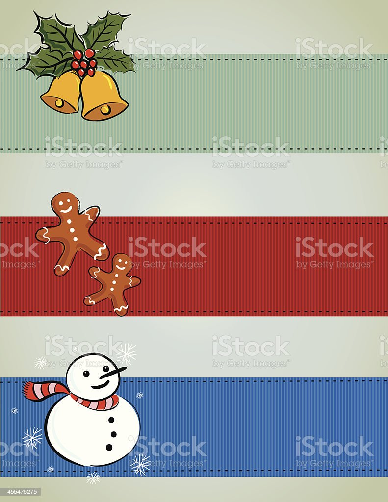 Christmas banner royalty-free stock vector art