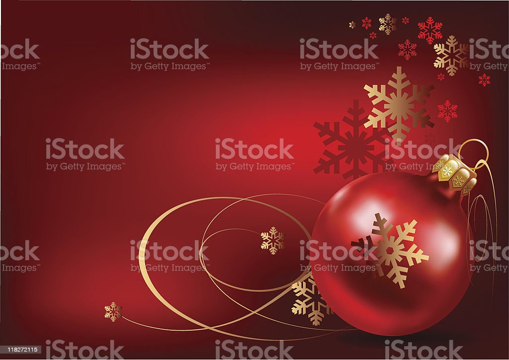 Christmas Bauble royalty-free stock vector art