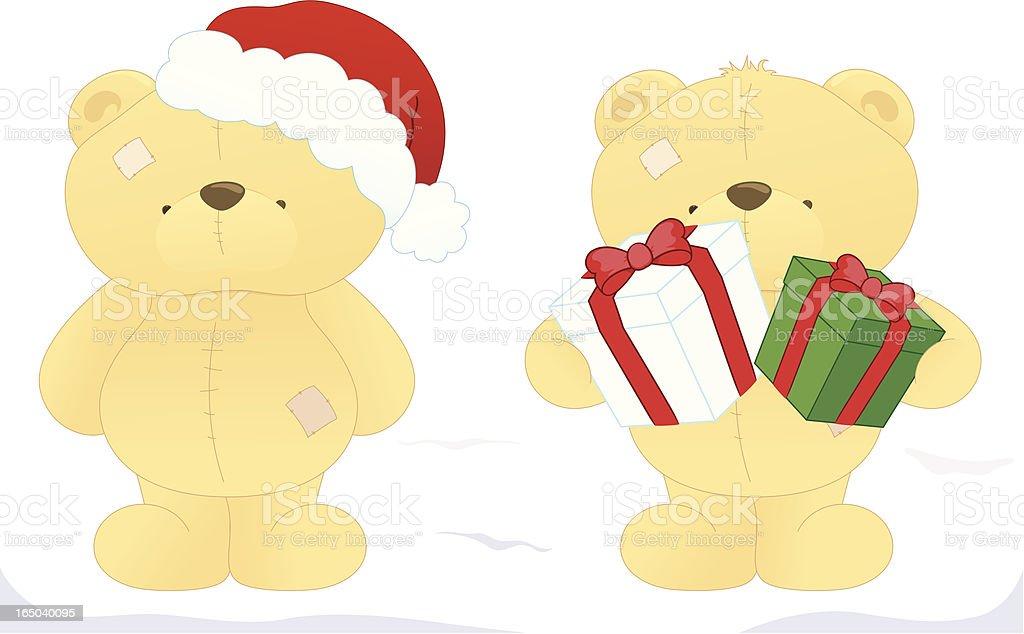 Christmas Bears - incl. jpeg royalty-free stock vector art