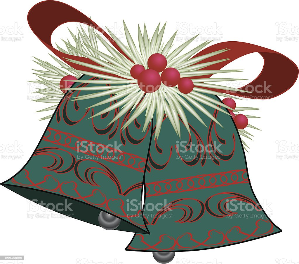 Christmas Bells (vector) royalty-free stock vector art