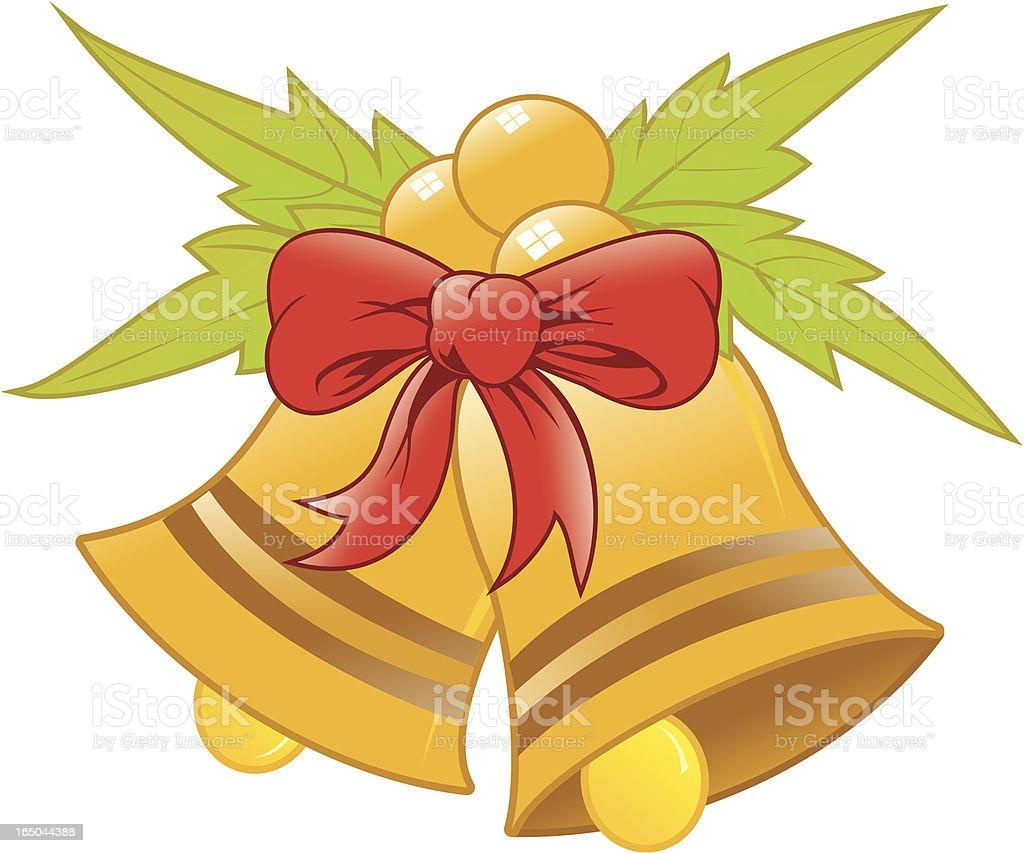 Navidad-bells - ilustración de arte vectorial