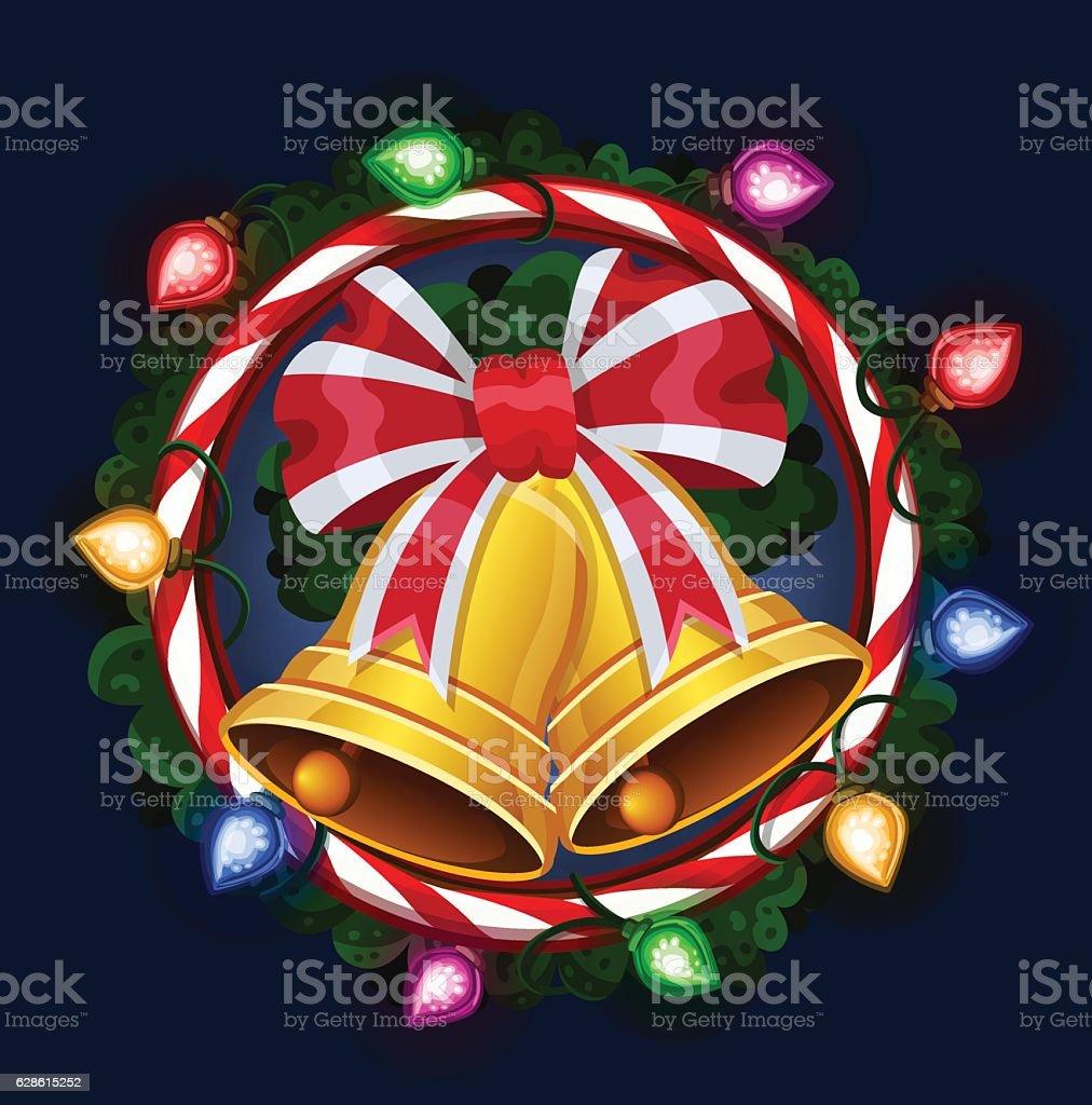 Рождественские bells векторная иллюстрация