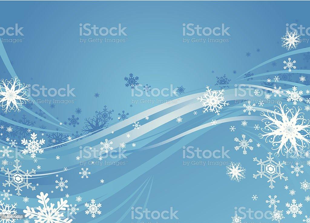 Christmas breeze royalty-free stock vector art