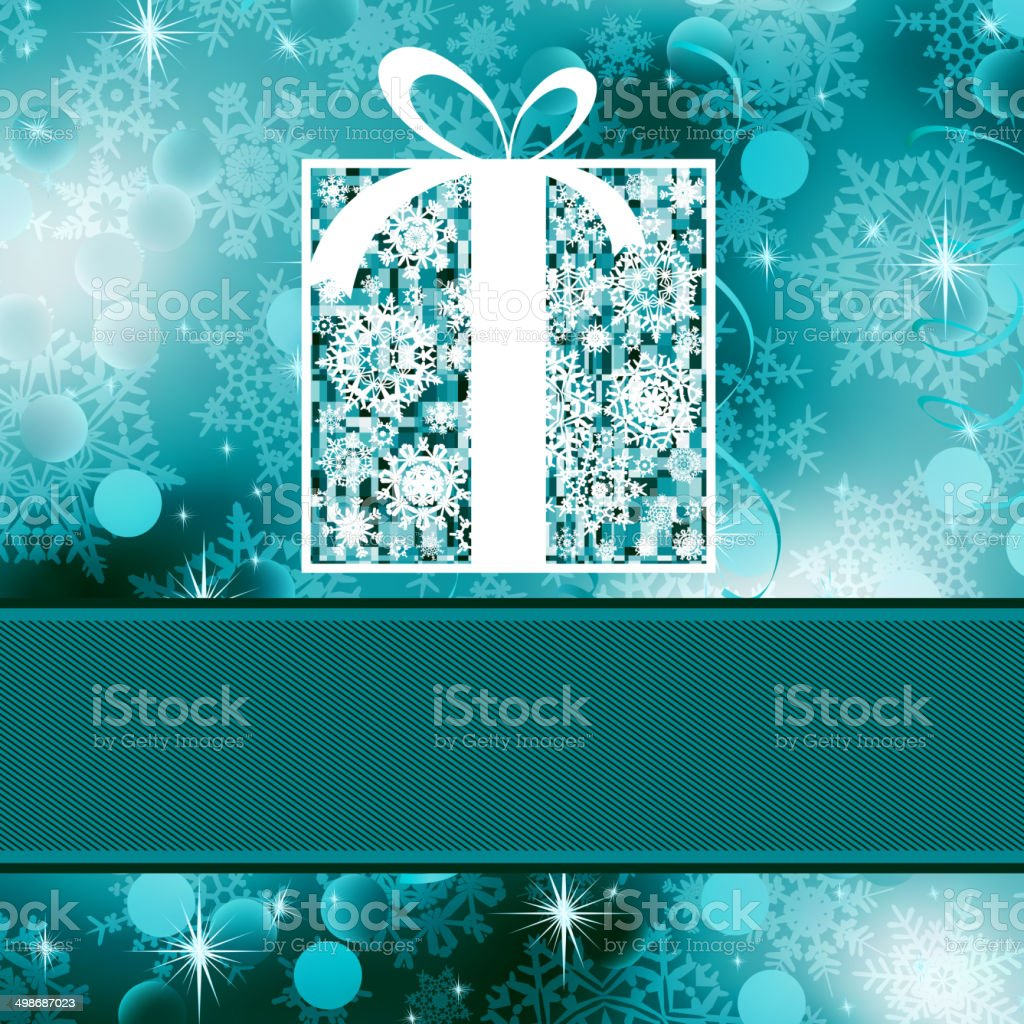Christmas card template. EPS 8 royalty-free stock vector art